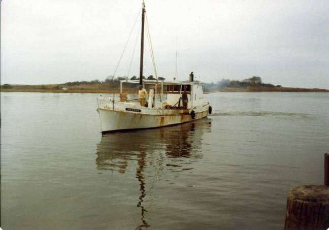 Oyster Buyboat Reginia at Saxis, VA