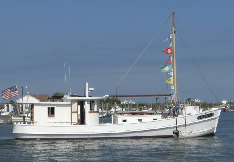 Oyster Buyboat Bessie L