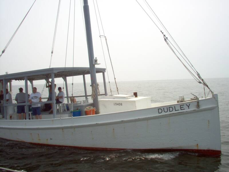 Oyster Buyboat Dudley