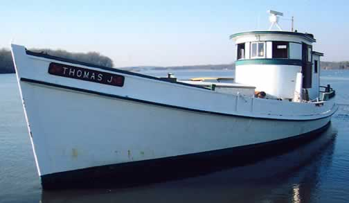Oyster Buyboat Thomas J.